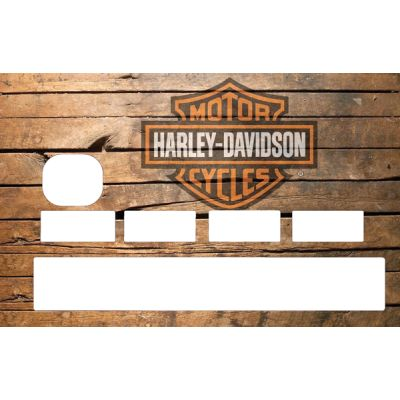 Stickers Carte Bleue Harley...