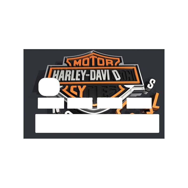Stickers pour CB Harley Davidson