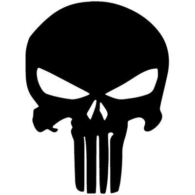 Stickers rétro Black Skulls