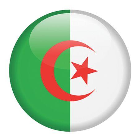 Stickers casque moto et scooter drapeau algérien