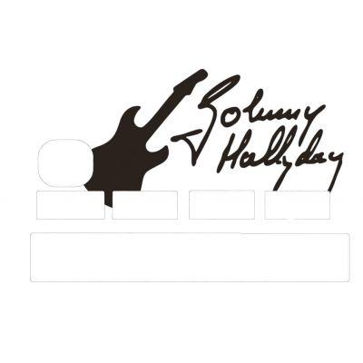 Stickers autographe Johnny...
