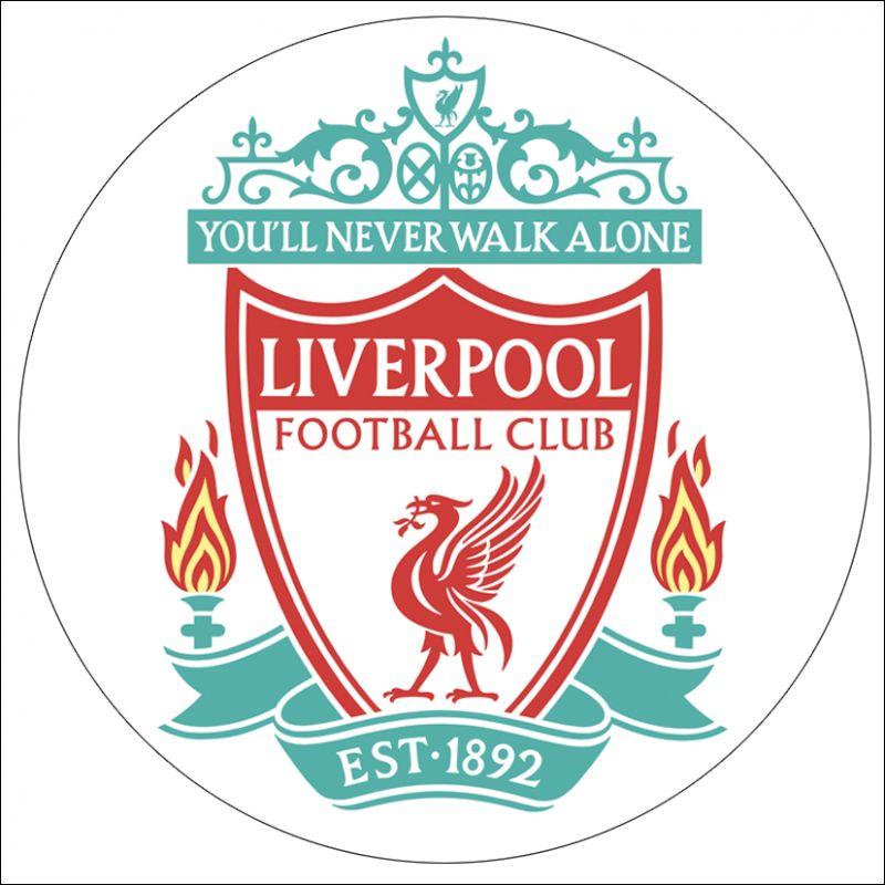 Stickers casque moto rétro éclairant Liverpool