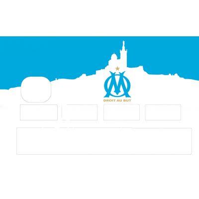 Stickers CB OM bleu