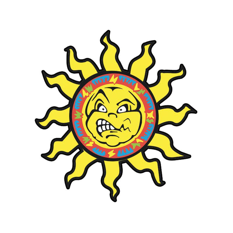 Stickers soleil Rossi 46