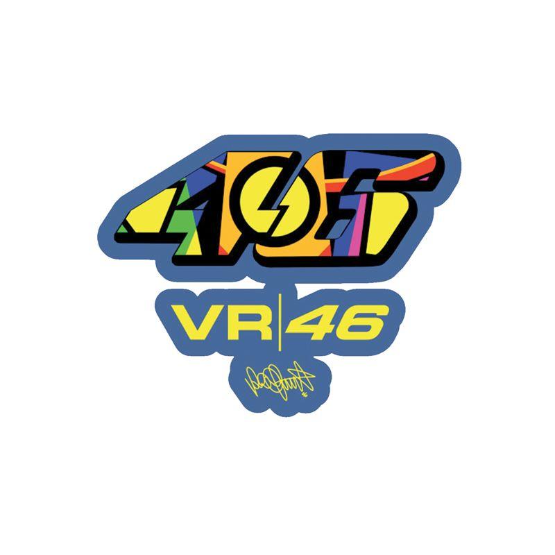 Stickers rétro luminescent Valentino Rossi 46