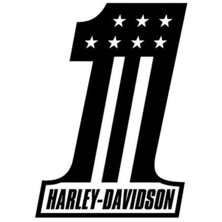 Stickers Harley Davidson pour casque de moto One