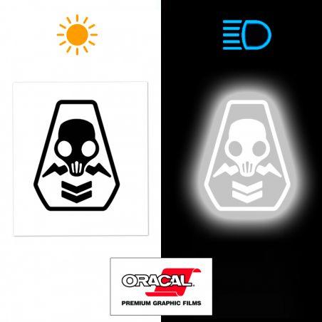 Stickers casque moto Fortnite Shadow