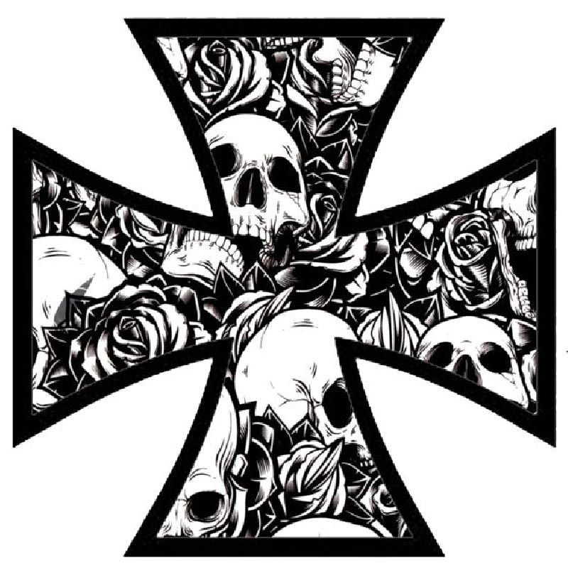 Stickers croix de Fer